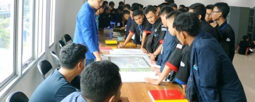 Kunjungan SMK Assalam Depok Ke Program Studi Teknik Industri Unikom